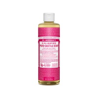 Dr. Bronners / Liquid Soap Rose 240ml