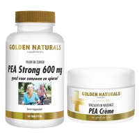 Golden Naturals / PEA strong 600 mg + PEA creme