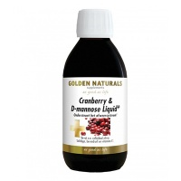 Golden Naturals / Cranberry & D-mannose Liquid