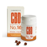 Cannamedic / CBD capules 6 mg (No. 16)