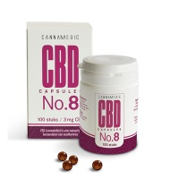 Cannamedic / CBD capules 3 mg (No. 8)