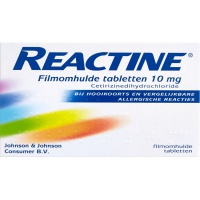 Reactine tabletten