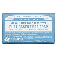 Dr. Bronners / Pure-castile Barsoap Baby Mild