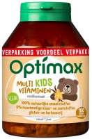 Optimax / Kinder multi-vitamine Vanille
