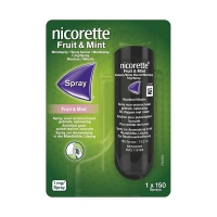 Nicorette / Fruit & Mint mondspray
