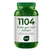 1104 Rode gist rijst extract