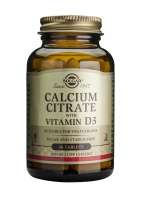 Solgar / Calcium Citrate with Vitamin D-3