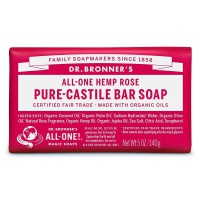 Dr. Bronners / Pure-castile Barsoap Rose