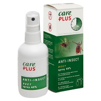 Care Plus / Deet spray 40% voordeelverpakking